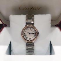 Cartier Ballon Bleu 28mm we902079 Yeni Altın/Çelik 28mm Quartz