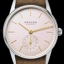NOMOS Orion 33 new 2020 Manual winding Watch with original box and original papers 325