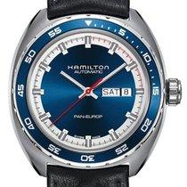 Hamilton Pan Europ Stahl 42mm Blau Deutschland, Rheda-Wiedenbrück