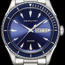 Hamilton Jazzmaster Seaview Steel 42mm Black