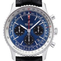 Breitling AB0121211C1P1 Staal 2021 Navitimer 1 B01 Chronograph 43 43mm nieuw