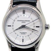 Frederique Constant Classics Automatic Steel 42mm Silver No numerals
