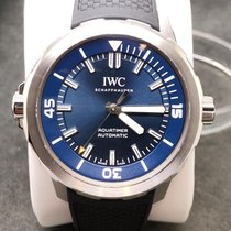 IWC Aquatimer自动钢42mm蓝色无数字美国,爱荷华州