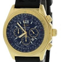 Breitling B-2 Yellow gold 44mm Black