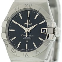 Omega Constellation Men Steel 38mm Black United States of America, New York, New York