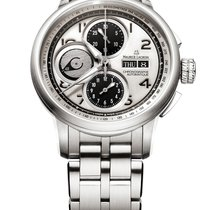 Maurice Lacroix Masterpiece new Automatic Chronograph Watch with original box and original papers MP6348-SS002-12E