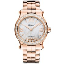Chopard 274808-5007 Rose gold Happy Sport 36mm new United States of America, Pennsylvania, Holland
