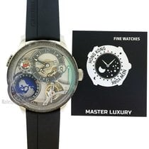 Greubel Forsey White gold 45.5mm Automatic P520 new