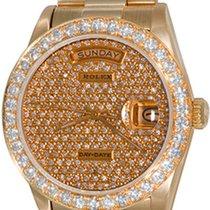 Rolex Day-Date 36 Желтое золото 35mm