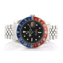 Rolex GMT-Master Steel 38mm Black
