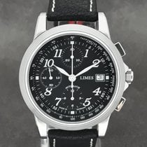 Limes Steel Automatic Black 41mm new