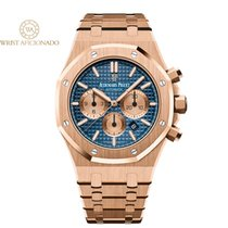 Audemars Piguet 26331OR.OO.1220OR.01 Or rose 2019 Royal Oak Chronograph 41mm occasion