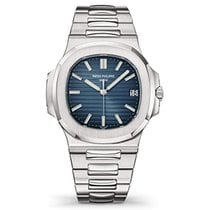 Patek Philippe Nautilus Steel 40mm Blue No numerals