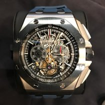 Audemars Piguet Royal Oak Offshore Tourbillon Chronograph 26348IO.OO.A002CA.01 Неношеные Титан 44mm Механические