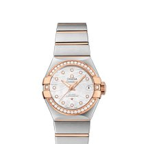 Omega Constellation Ladies Gold/Steel 27mm Mother of pearl United States of America, New Jersey, Cherry Hill