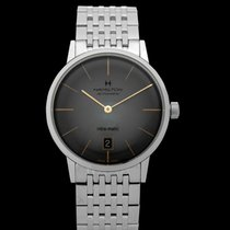 Hamilton Intra-Matic new 2021 Automatic Watch with original box and original papers H38455181