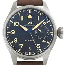 IWC Big Pilot новые 2020 Автоподзавод Часы с оригинальными документами и коробкой IW501004