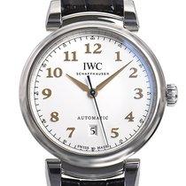 IWC Da Vinci Automatic Stahl 40,4mm Silber Arabisch Deutschland, Bietigheim-Bissingen