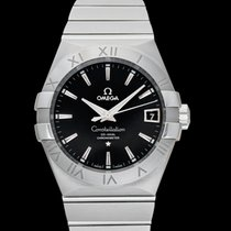 Omega Constellation Men Steel 38mm Black United States of America, California, San Mateo