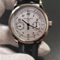 Patek Philippe Chronograph Oro bianco 39mm Argento Italia, Torino