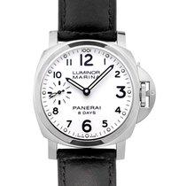 Panerai Luminor Marina 8 Days nieuw Handopwind Horloge met originele doos en originele papieren PAM00563