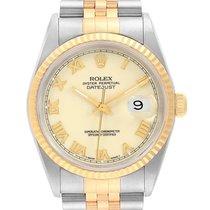 Rolex 16233 Staal 1987 Datejust 36mm tweedehands
