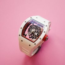 Richard Mille Ceramic 49.9mm Manual winding Rm055 pre-owned