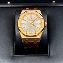 Audemars Piguet Royal Oak Selfwinding Rose gold 41mm Silver No numerals United States of America, New York, NEW YORK