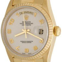 Rolex Day-Date 36 Yellow gold 35mm Champagne Arabic numerals United States of America, Texas, Dallas