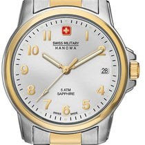 Swiss Military Hanowa Swiss Soldier Prime Acero 32mm Blanco
