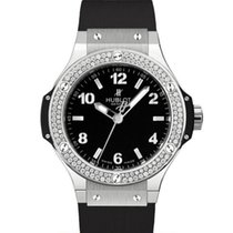 Hublot Big Bang 38 mm Stal 38mm Czarny Arabskie