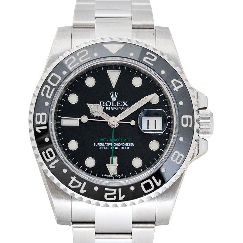 Rolex (ロレックス) GMT マスター II 116710LN 中古