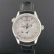 Jaeger-LeCoultre Master Geographic Steel 39mm Silver United States of America, New York, New York