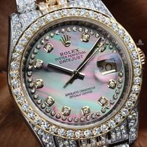 Rolex Datejust Steel 36mm Mother of pearl No numerals United States of America, New York, New York