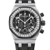 Audemars Piguet Royal Oak Offshore Lady Steel 37mm Black United States of America, New York, New York
