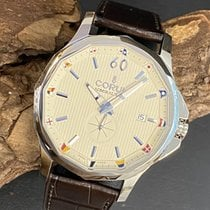 Corum Admiral's Cup Legend 42 Stal 42mm Szampański