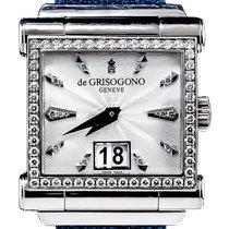 De Grisogono So2 Très bon Or blanc 40mm Remontage automatique
