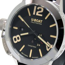 U-Boat 9006 U-BOAT STRATOS 45 BK Acciaio Automatico Nero 45mm Сталь 2021 40mm новые
