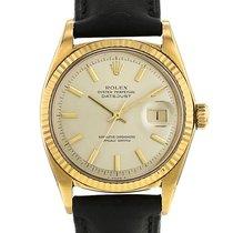 Rolex Oyster Perpetual Date Or jaune 34mm Sans chiffres France, Paris
