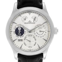 Jaeger-LeCoultre Master Eight Days Perpetual Acero 40mm Plata