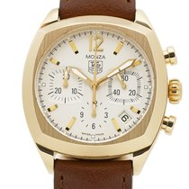 TAG Heuer Monza Yellow gold 38mm Silver United States of America, New York, New York