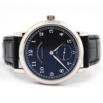 A. Lange & Söhne Platinum Manual winding Black 40mm pre-owned 1815