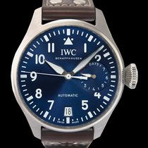 IWC Big Pilot Steel 46.20mm Blue United States of America, California, San Mateo