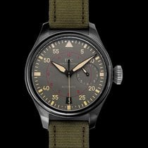 IWC Ceramic Automatic Grey 48.00mm new Big Pilot Top Gun Miramar