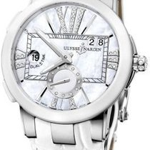 Ulysse Nardin Executive Dual Time Lady Steel 40mm White United States of America, New York, New York