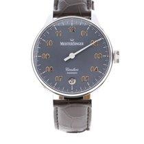 Meistersinger Circularis Steel 43mm Grey Arabic numerals