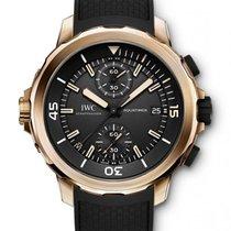 IWC Aquatimer Chronograph nuevo 2021 Automático Cronógrafo Reloj con estuche y documentos originales IW379503