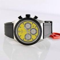 Tudor Fastrider Chrono gebraucht 42mm Gelb Chronograph Datum Tachymeter Kautschuk
