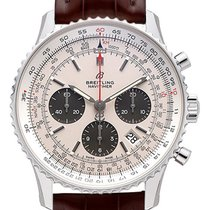 Breitling AB0121211G1P1 Staal 2021 Navitimer 1 B01 Chronograph 43 43mm nieuw