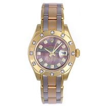 Rolex Lady-Datejust Pearlmaster Yellow gold 29mm United States of America, Texas, Dallas